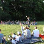 Warsztaty wokalne w parku Skaryszewski